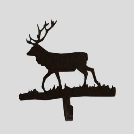 Garderobenhaken Hirsch aus Metall