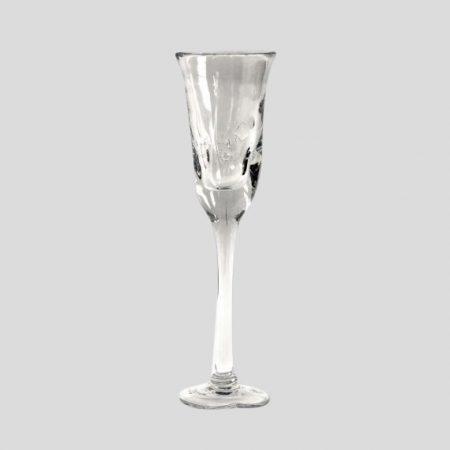 Weinglas mit Hirsch