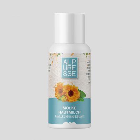 Molke Hautmilch mit Kamille, Ringelblume und Jojoba 50 ml