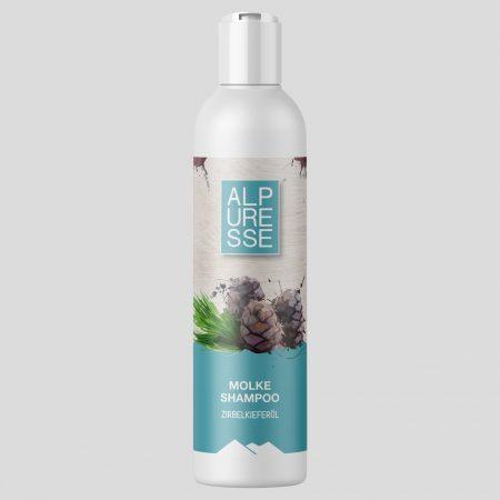 Molke Shampoo mit Zirbelkieferöl 250 ml