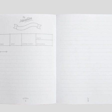 Erlebnistagebuch für Reisen
