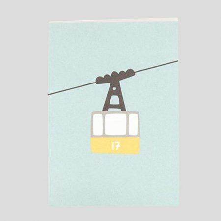 Postkarte Gondel
