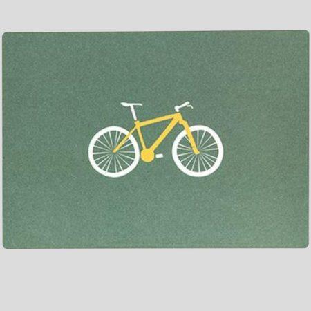 Postkarte Mountainbike