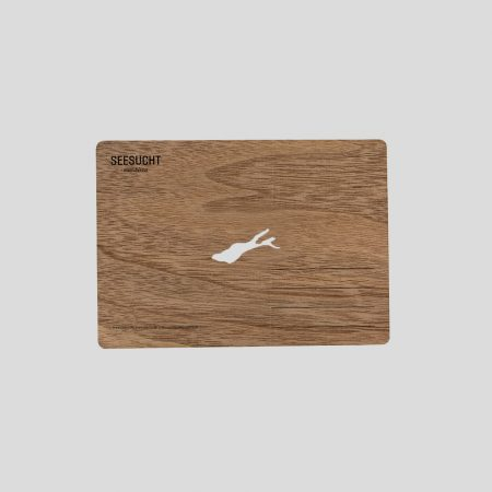 Holzpostkarte Bodensee