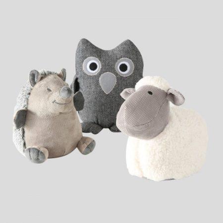 Türstopper als Igel, Eule oder Schaf