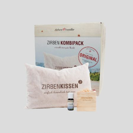 Zirben-Schlaf-Gut-Set