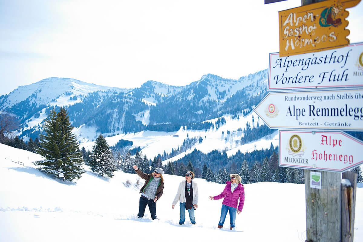 Oberstaufen Winterwandern