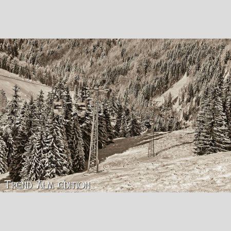 Hochgratbahn - Foto auf Leinwand