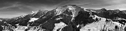 Zugspitze - Foto auf Leinwand